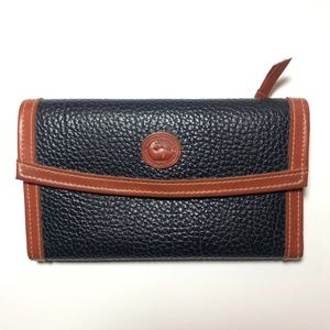 Vintage Dooney & Bourke Folio Wallet